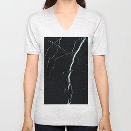 Marble (Black) Unisex V-Neck