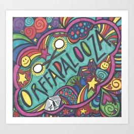 Orffapalooza Art Print