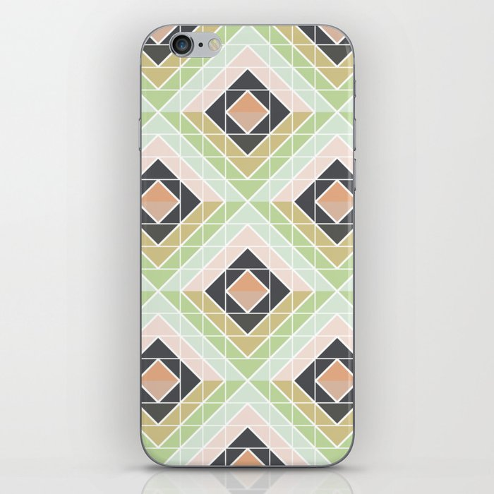 Retro Mod Diamonds iPhone Skin