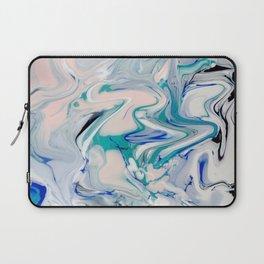 Marble watercolor pastel Laptop Sleeve