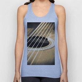 On A String Unisex Tank Top