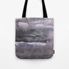 Gray nebulous wash drawing painting Tote Bag