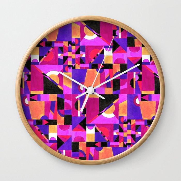 Geomtropy Wall Clock