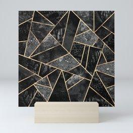 Black Stone 2 Mini Art Print