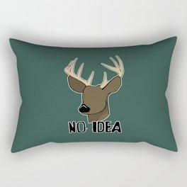 No Eye Deer Rectangular Pillow