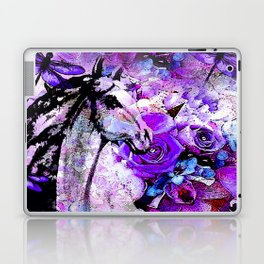 HORSE ROSES DRAGONFLY IMPRESSIONS Laptop & iPad Skin