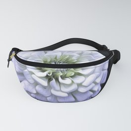 The White Zinnia Fanny Pack