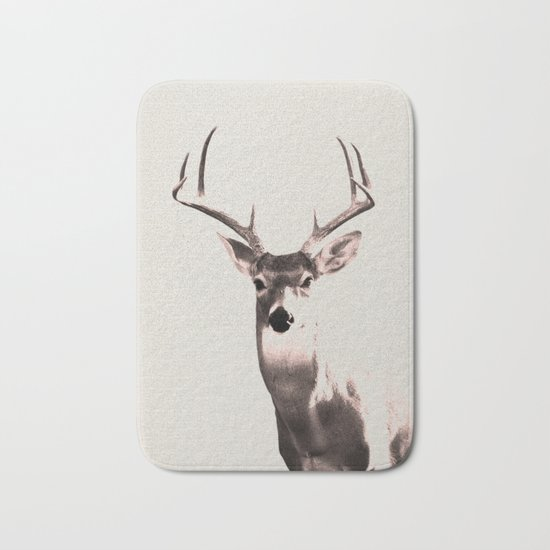 Deer Art 1 Bath Mat