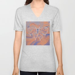 PSYCHEFLAGED Unisex V-Neck