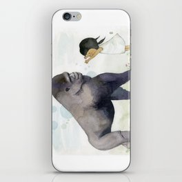 Hug me , Mr. Gorilla iPhone Skin