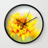 fairy tale Wall Clocks featuring fairy tale by Norie