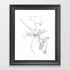wahi a' wā Framed Art Print