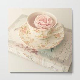 Lovely Rose Floating Metal Print