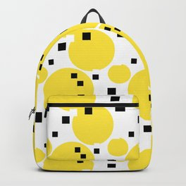 Abstract New York Yellow Taxi Backpack