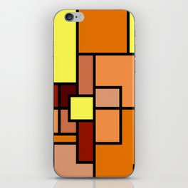 The Colors of / Mondrian Series - Lion King  iPhone Skin