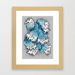 Seven Seas Framed Art Print