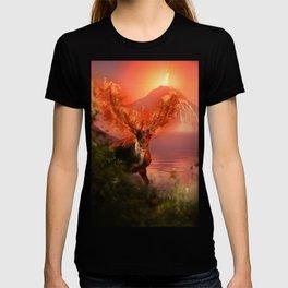 Deer on Fire by GEN Z T-shirt