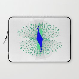 Peacock Reflection Laptop Sleeve