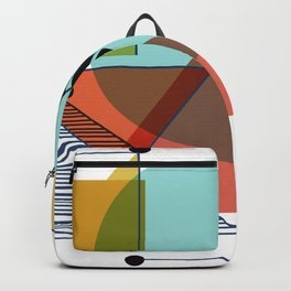 Bauhaus Kandinsky Modern Art Backpack