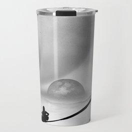 Black Space Song Travel Mug