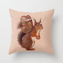 EINHOERNCHEN Throw Pillow