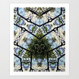 Natural Pattern No 1 Art Print