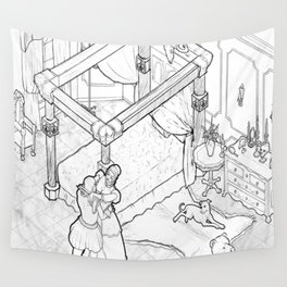 Lilith's Room Wall Tapestry