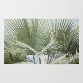 Palm Leaves in the Breeze  Rug