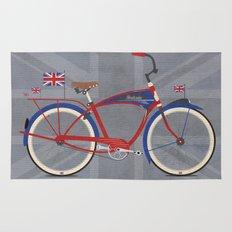 British Bicycle Rug