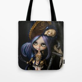 LADY BUCCANEER PIRATE OOAK BLYTHE ART DOLL Tote Bag