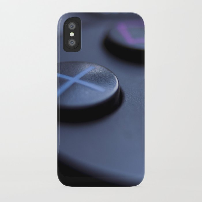 ps4 controller Macro iPhone Case by bastfury