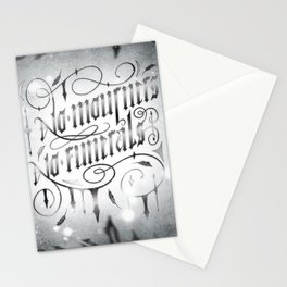 NO MOURNERS NO FUNERALS Stationery Cards