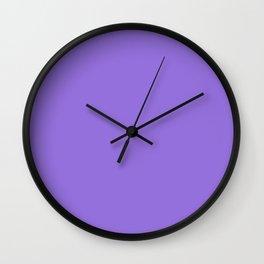 color medium purple Wall Clock