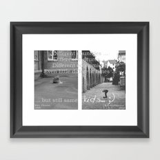Kids... Framed Art Print