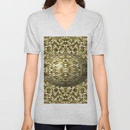 3105 Mosaic pattern #4 Unisex V-Neck
