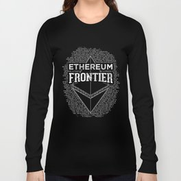 Ethereum Frontier Long Sleeve T-shirt