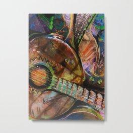Wild Banjos Metal Print