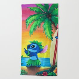 Lilo And Stitch Beach Towels Society6