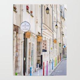 Paris Street Style No. 3 Poster
