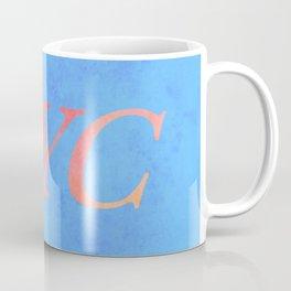 New York Print Coffee Mug
