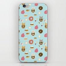 Donut Cat iPhone & iPod Skin
