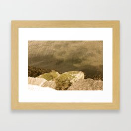 Turbidity Framed Art Print