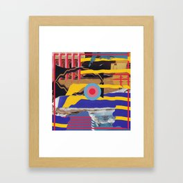 pulled muscle Framed Art Print