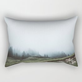 In the mountains again Rectangular Pillow
