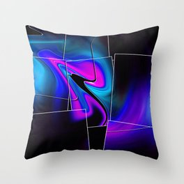 """""""Piecing Love Together"""" Print Throw Pillow"""