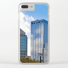Uptown II Clear iPhone Case