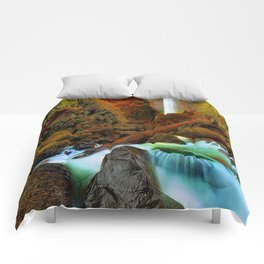 Plymouth Falls Comforters