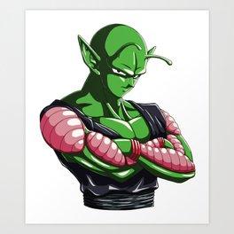 DBZ - Piccolo Art Print
