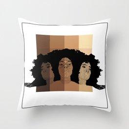SKIN-01 Throw Pillow