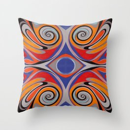 ink drop Throw Pillow